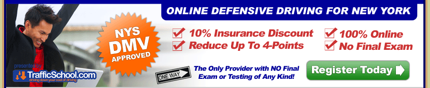 Preview Our Online Course. Our online defensive driving course for New York's Point & Insurance Reduction Program (PIRP and IPIRP) is designed and written with the assistance of a select group of devoted highway traffic safety trainers and specialists.